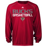 adidas Milwaukee Bucks Stacked High Tee