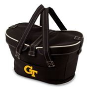 Picnic Time Mercado Georgia Tech Yellow Jackets Insulated Basket