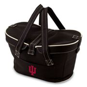 Picnic Time Mercado Indiana Hoosiers Insulated Basket