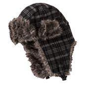 Urban Pipeline Plaid Trapper Cap