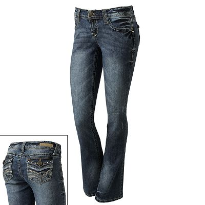 Wallflower Bootcut Jeans - Juniors