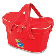 Picnic Time Mercado Kansas Jayhawks Insulated Basket