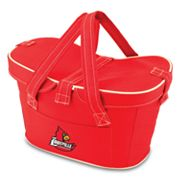 Picnic Time Mercado Louisville Cardinals Insulated Basket