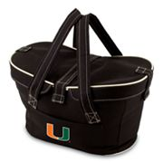 Picnic Time Mercado Miami Hurricanes Insulated Basket