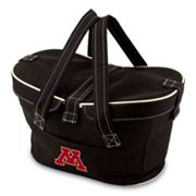 Picnic Time Mercado Minnesota Golden Gophers Insulated Basket