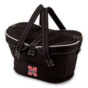 Picnic Time Mercado Nebraska Cornhuskers Insulated Basket