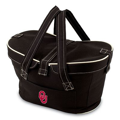 Picnic Time Mercado Oklahoma Sooners Insulated Basket