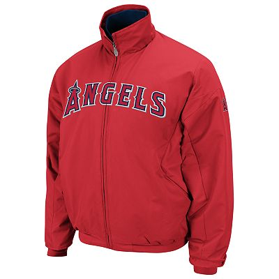Majestic Los Angeles Angels of Anaheim Therma Base Triple Peak Premier Jacket