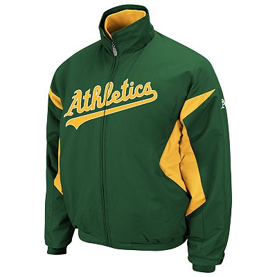 Majestic Oakland Athletics Therma Base Triple Peak Premier Jacket