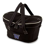 Picnic Time Mercado Washington Huskies Insulated Basket