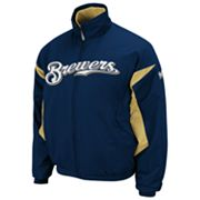 Majestic Milwaukee Brewers Therma Base Triple Peak Premier Jacket