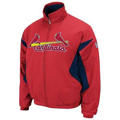 Majestic St. Louis Cardinals Therma Base Triple Peak Premier Jacket