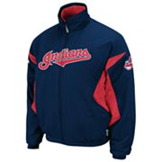 Majestic Cleveland Indians Therma Base Triple Peak Premier Jacket