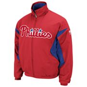 Majestic Philadelphia Phillies Therma Base Triple Peak Premier Jacket