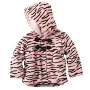 Rothschild Zebra Faux-Fur Coat - Girls 4-6x