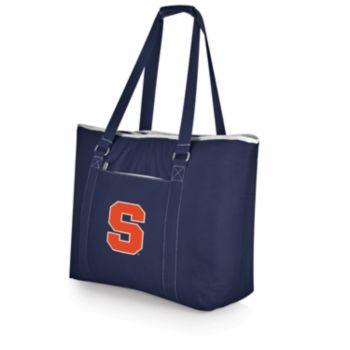 Picnic Time Tahoe Syracuse Orange Insulated Cooler Tote