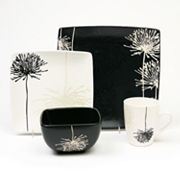 Baum Shadow Garden 16-pc. Square Dinnerware Set