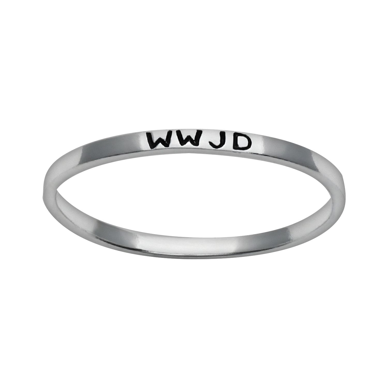 Sterling silver wwjd ring for Kohls fine jewelry coupon