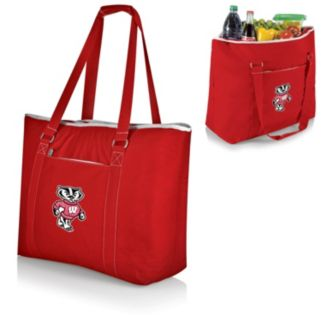 Picnic Time Tahoe Wisconsin Badgers Insulated Cooler Tote