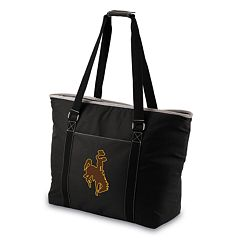 Picnic Time Tahoe Wyoming Cowboys Insulated Cooler Tote