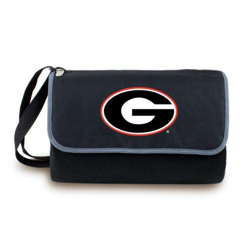 Picnic Time Georgia Bulldogs Blanket Tote
