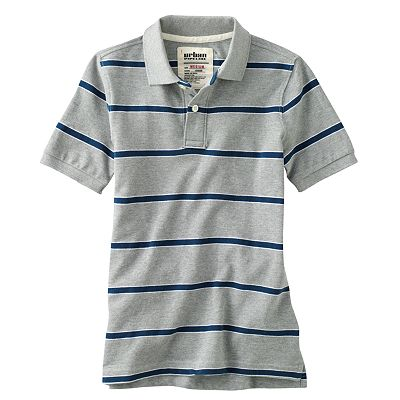 Urban Pipeline Rugby-Striped Polo - Boys 8-20