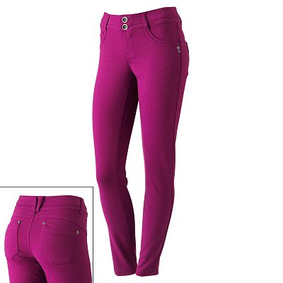 Candie's Color Ponte Pants - Juniors