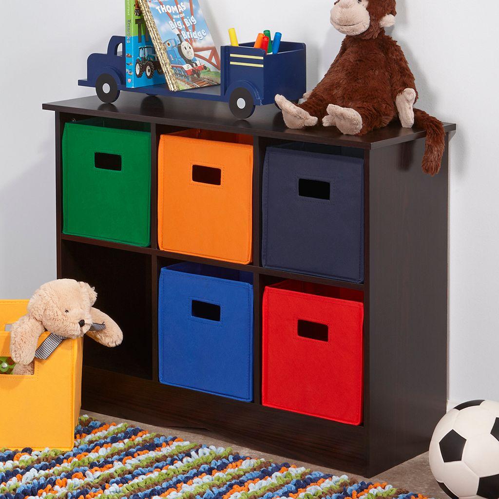 RiverRidge Kids 6-Bin Storage Cabinet