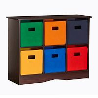 RiverRidge Kids 6-Bin Storage Cabinet