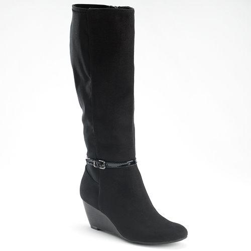 a5b0532315ab Dana Buchman Tall Wedge Boots - Women