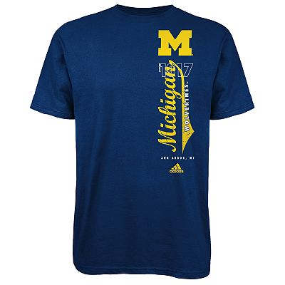 adidas Michigan Wolverines Tee - Men