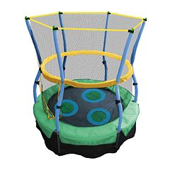 Skywalker Trampolines 40 in Lily Pad Adventure Bouncer with Enclosure