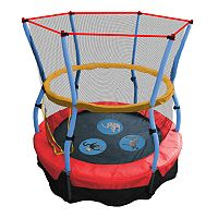 Skywalker Trampolines 48 in Zoo Adventure Bouncer with Enclosure