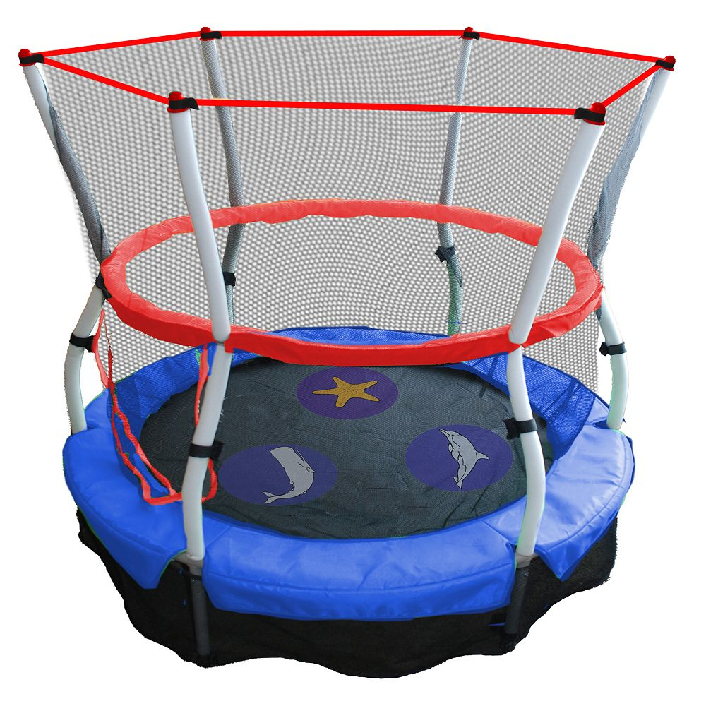 Game on closeouts sporting goods - Skywalker Trampolines 60 In Seaside Adventure Bouncer With Enclosure