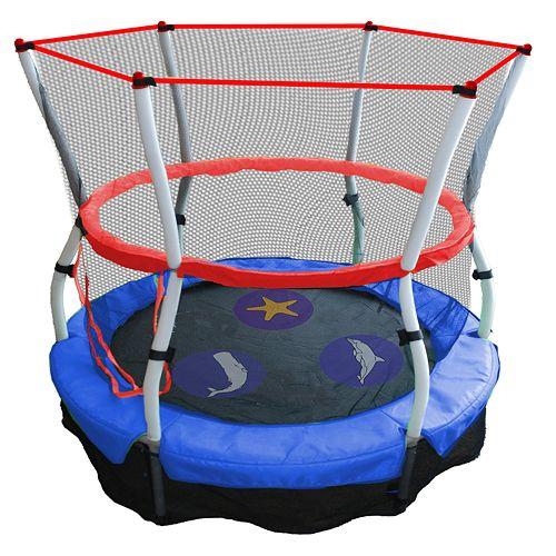 10ft Trampoline Youtube: Skywalker Trampolines 60-in. Seaside Adventure Bouncer