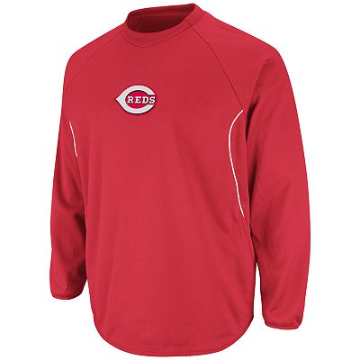 Majestic Cincinnati Reds Therma Base Tech Fleece