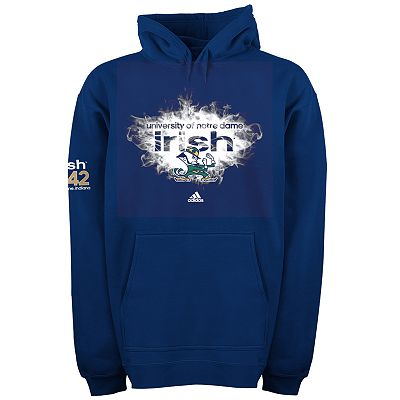 adidas Notre Dame Fighting Irish Smoke Up Fleece Hoodie