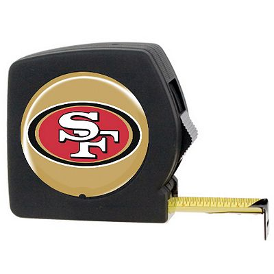 San Francisco 49ers 25' Tape Measure
