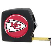 Kansas City Chiefs 25' Tape Measure