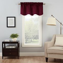 eclipse Canova Thermaback Blackout Window Valance - 42'' x 21''