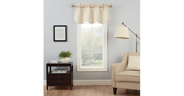 Kohls Wedding Registry Gift Card : eclipse Canova Thermaback Blackout Valance - 42 21