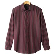 Apt. 9 Ombre-Striped Casual Button-Down Shirt