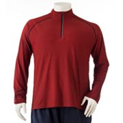 Tek Gear 1/4-Zip Woolish Performance Pullover - Big and Tall