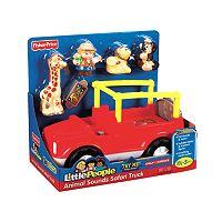 Fisher-Price Little People Animal Sounds Safari Truck