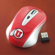 Utah Utes Wireless Optical Mouse