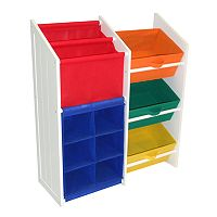 RiverRidge Kids Super Storage Bins, Cubbies & Bookshelf Unit