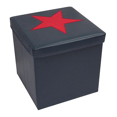 RiverRidge Kids Star Storage Ottoman