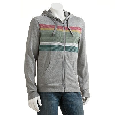 Hang Ten Fleece Zip-Up Hoodie - Men