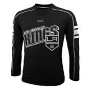 Reebok Los Angeles Kings Colorblock Tee - Boys 8-20