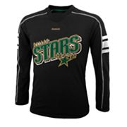 Reebok Dallas Stars Colorblock Tee - Boys 8-20